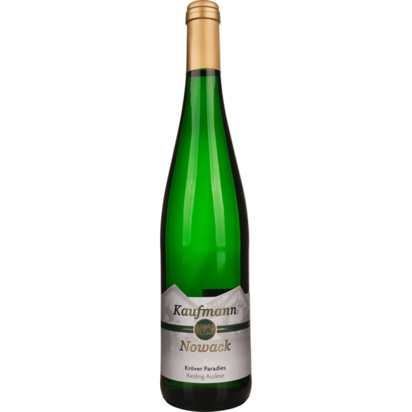 Weingut Kaufmann-Nowack - Das Ferienweingut in Kröv an der Mosel - Kröver Paradies Riesling Auslese 2018