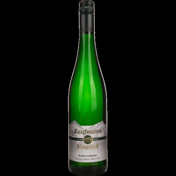 Weingut Kaufmann-Nowack - Das Ferienweingut in Kröv an der Mosel - Kröver Letterlay Riesling Spätlese halbtrocken 2019