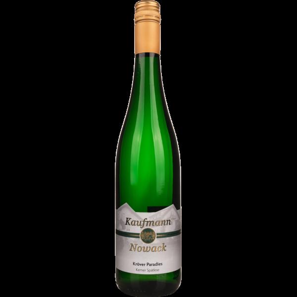 Weingut Kaufmann-Nowack - Das Ferienweingut in Kröv an der Mosel - Kröver Paradies Kerner Spätlese